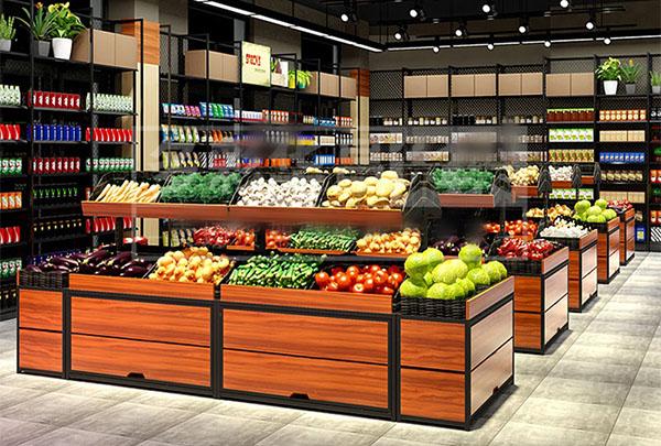 超市蔬菜貨架