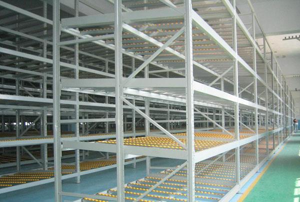 食品公司流利式仓储货架