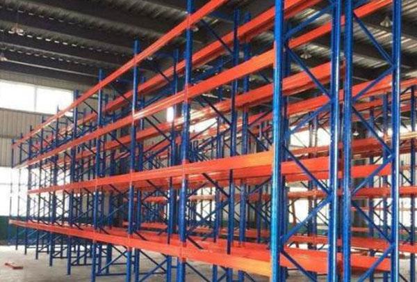 物流横梁托盘式重型仓储货架