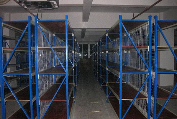 化工厂流利式仓储货架