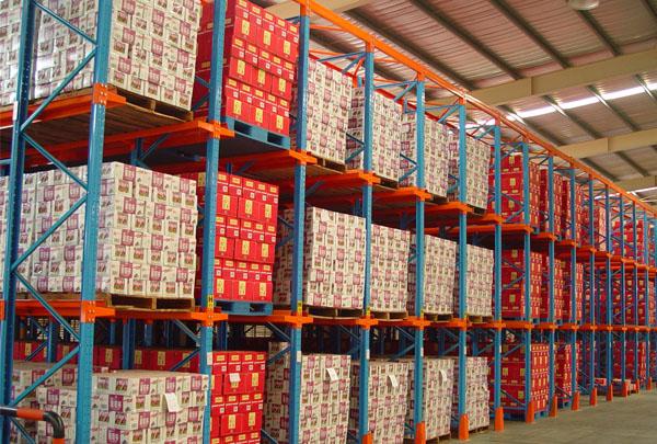木材厂贯通式仓储货架