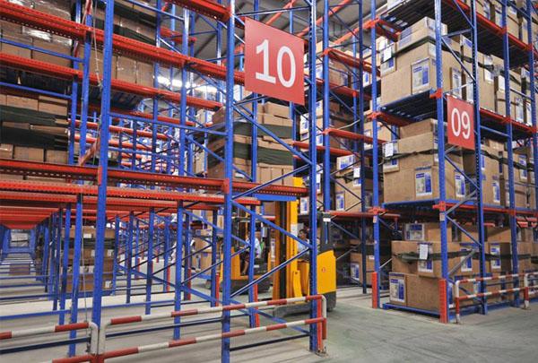 医疗机构贯通式仓储货架