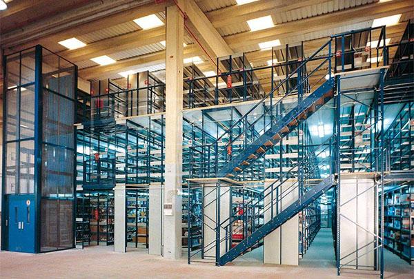 大型阁楼式仓储货架