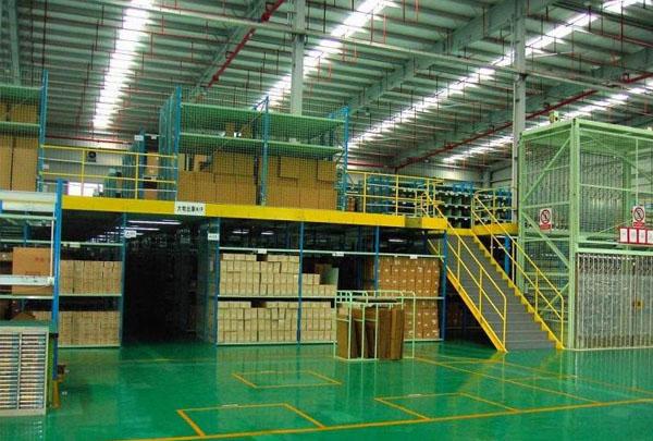 工廠閣樓式倉儲貨架