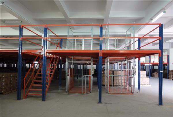昆明食品厂阁楼式仓储货架
