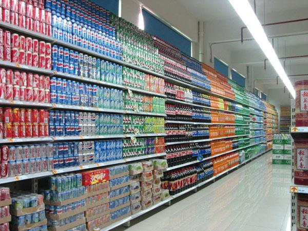 昆明超市货架