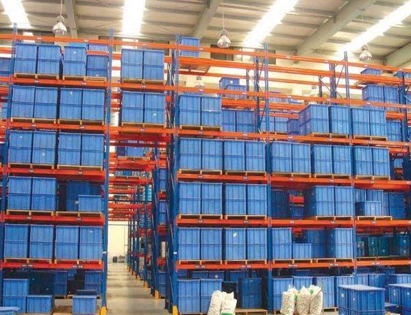 倉儲式貨架工程案例展示