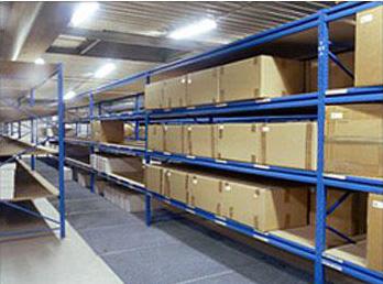中型仓储货架案例