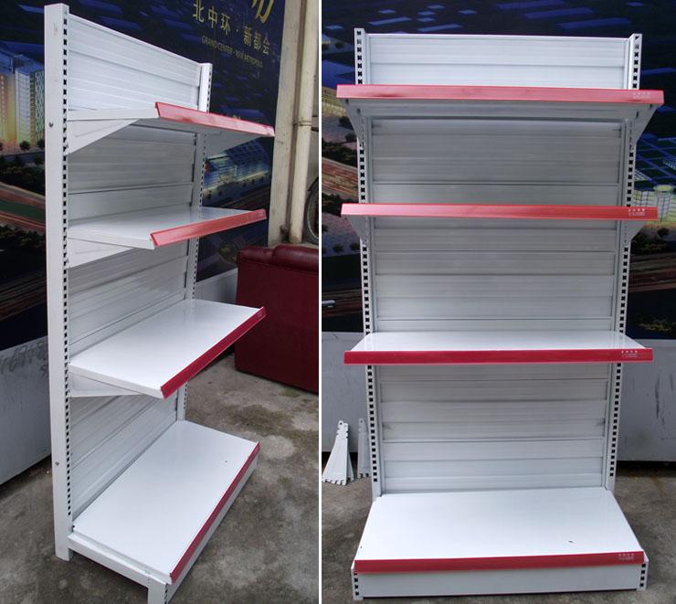中背板超市货架