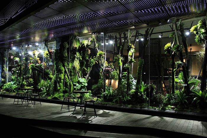 商用热带雨林造景