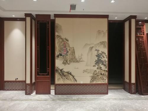 中式装修护墙板