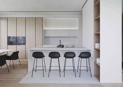 现代轻奢整体厨房