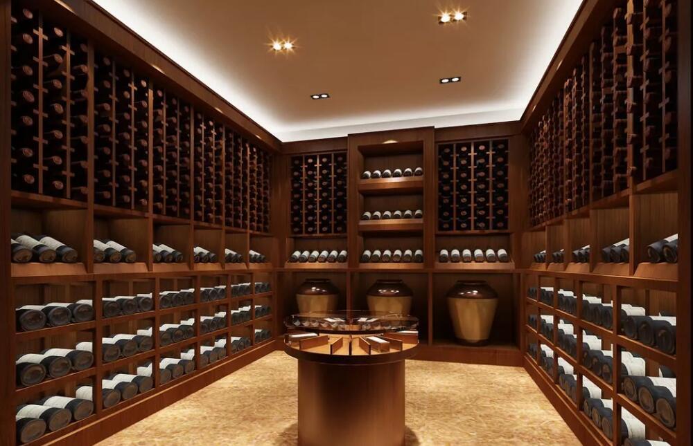 欧式实木定制酒窖