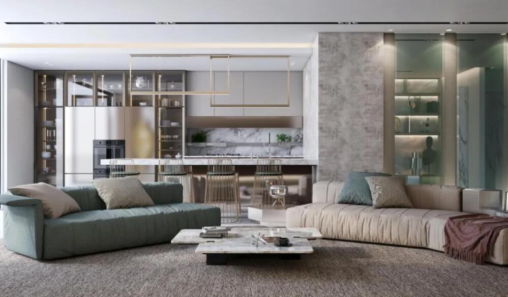 好一个客厅,好一个惊艳的家!
