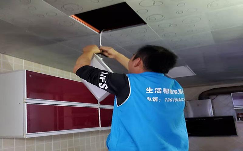 灯具更换维修