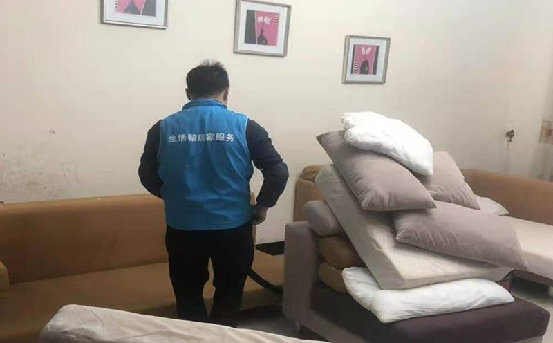 布藝沙發套清洗
