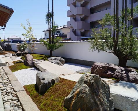 日式别墅庭院设计