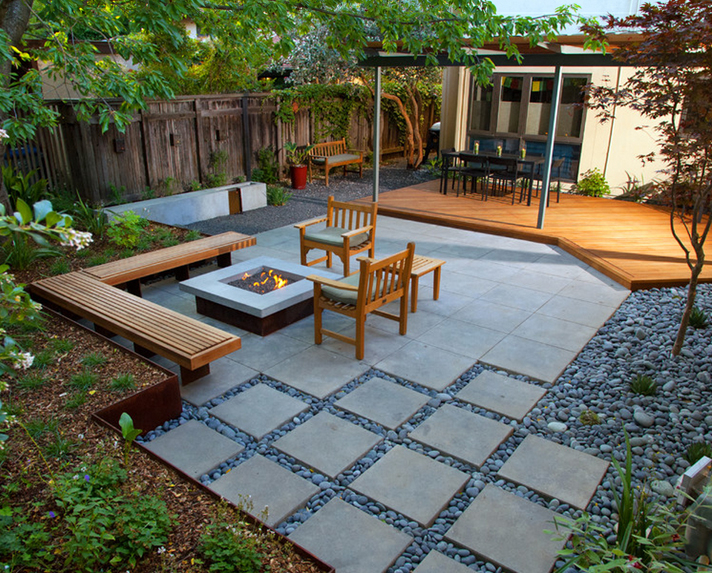 现代别墅庭院设计