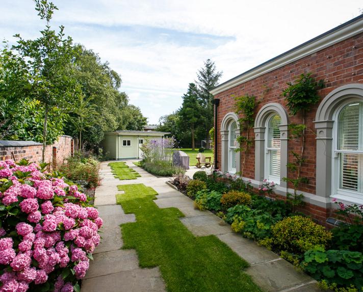 美式别墅庭院景观
