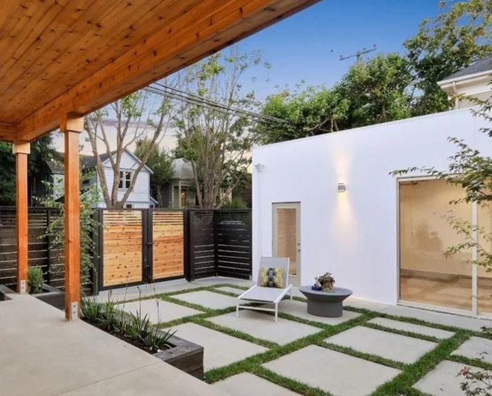 现代风格庭院设计
