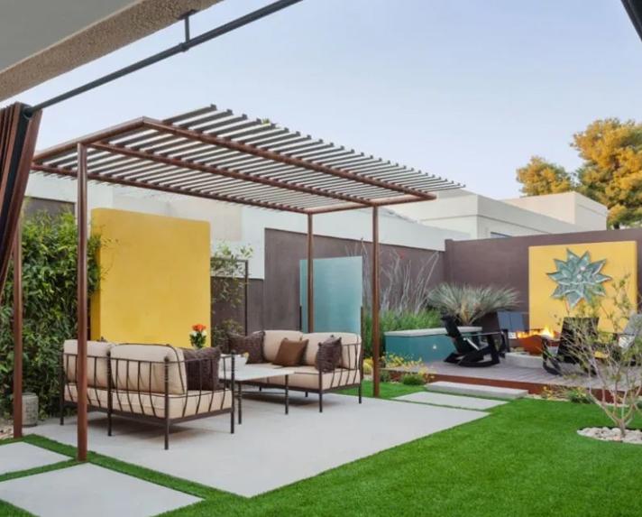 别墅现代庭院设计