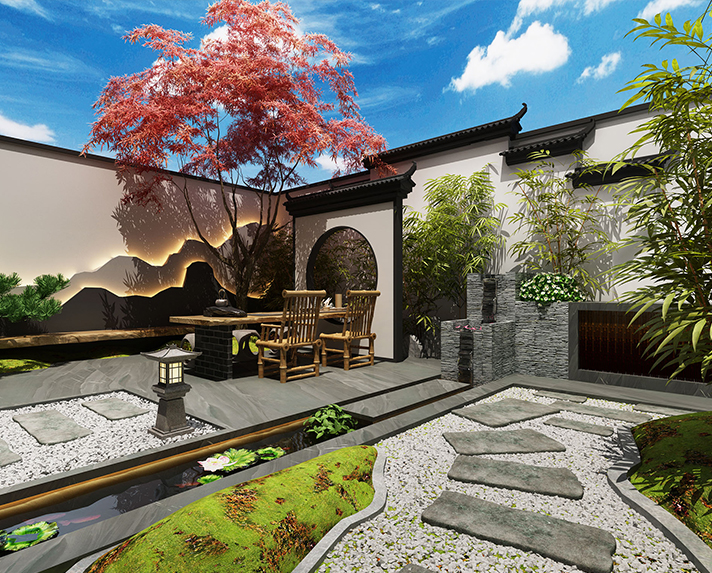 中天诚品庭院设计