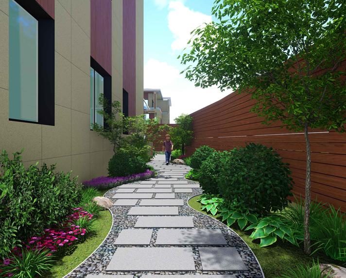 阳光台别墅庭院景观设计