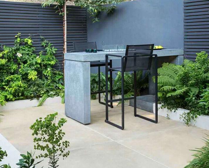 浐灞紫薇花园洲庭院景观设计