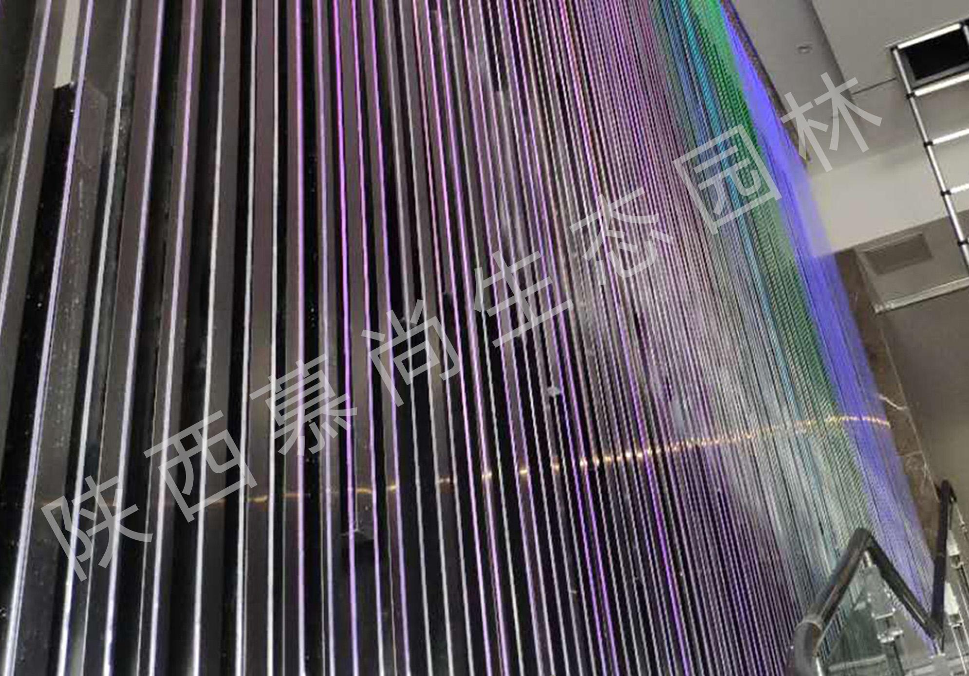 榆林室內光纖水幕