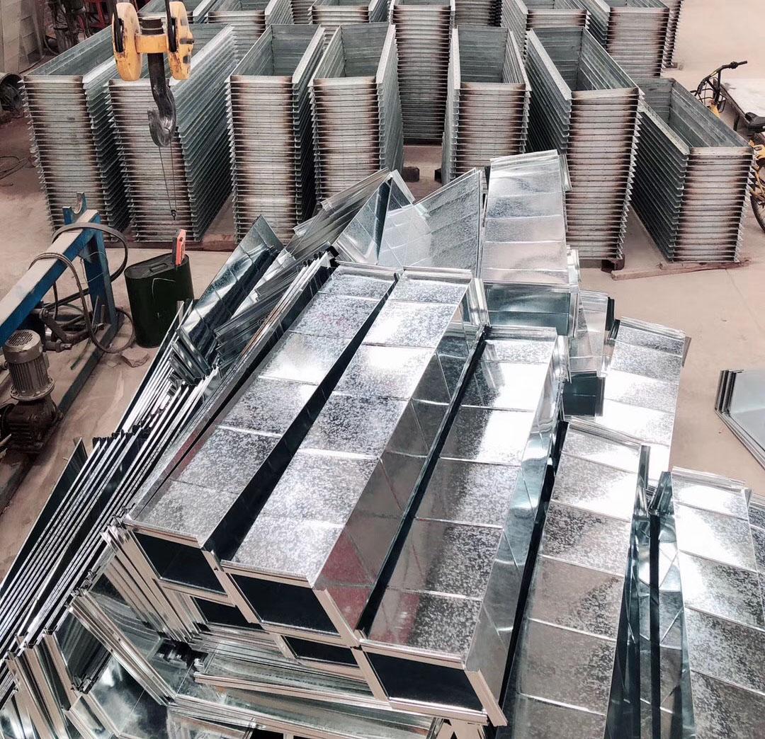 角铁法兰风管生产厂家突出的优势有哪些?