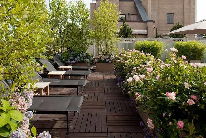 私家屋顶花园设计