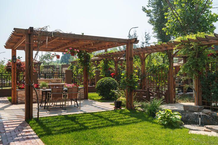 西安私家庭院设计-私家庭院设计公司-私家庭院景观