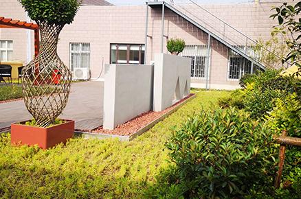 西安楼顶花园绿化