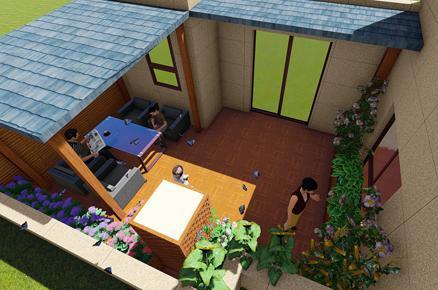 花千树屋顶花园设计