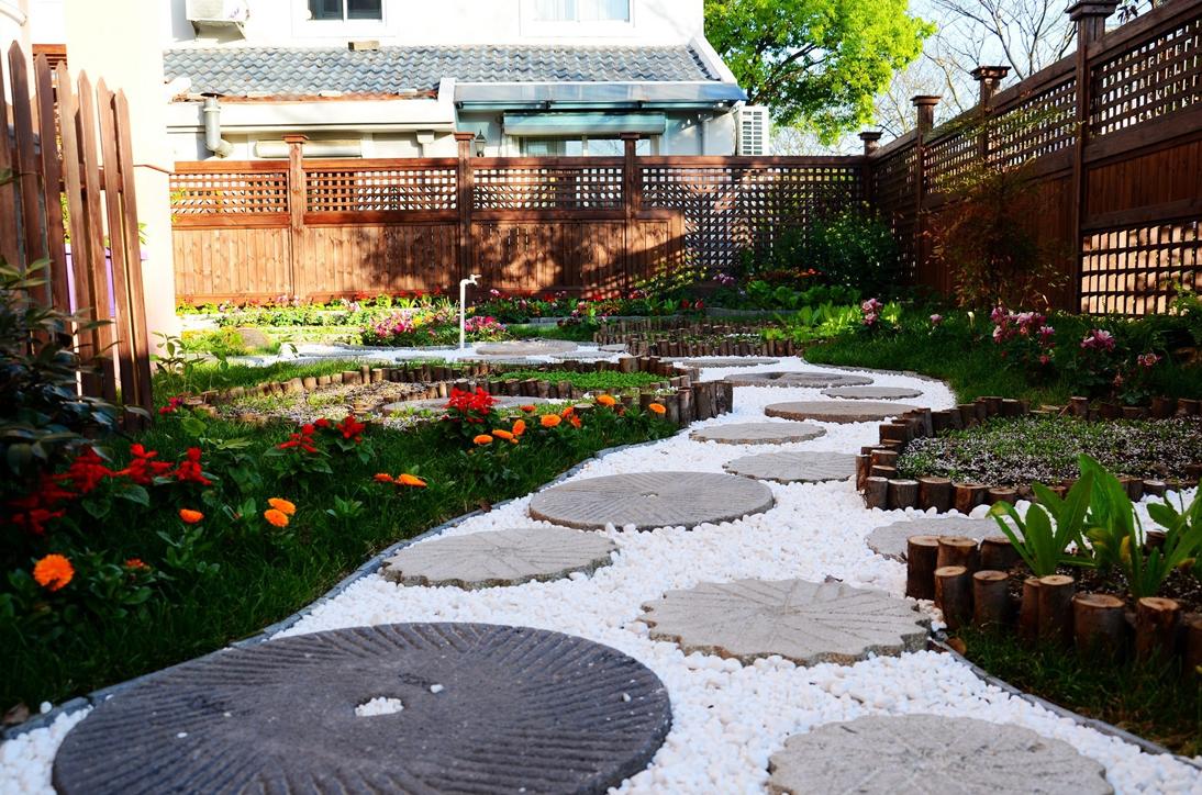 西安田园式庭院