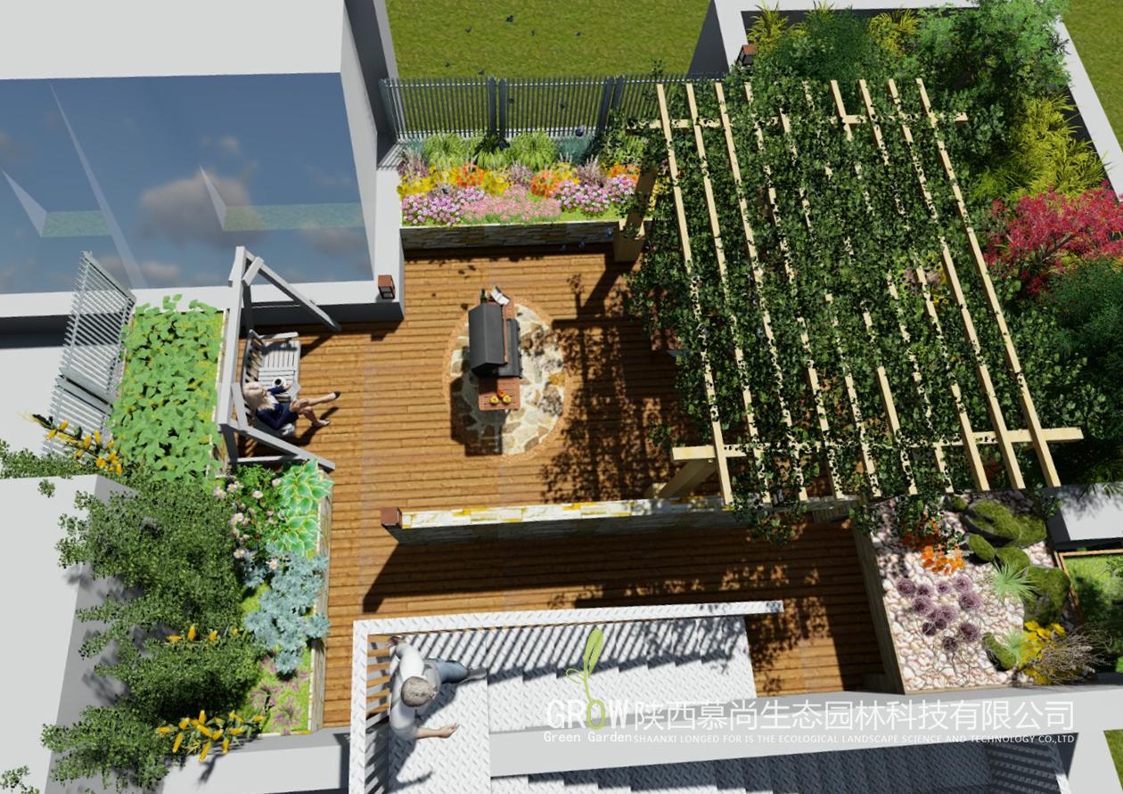 金泰假日花城屋顶花园