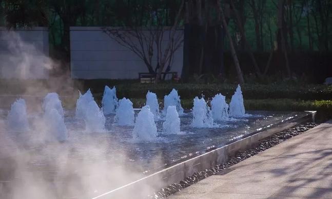 庭院喷泉水景