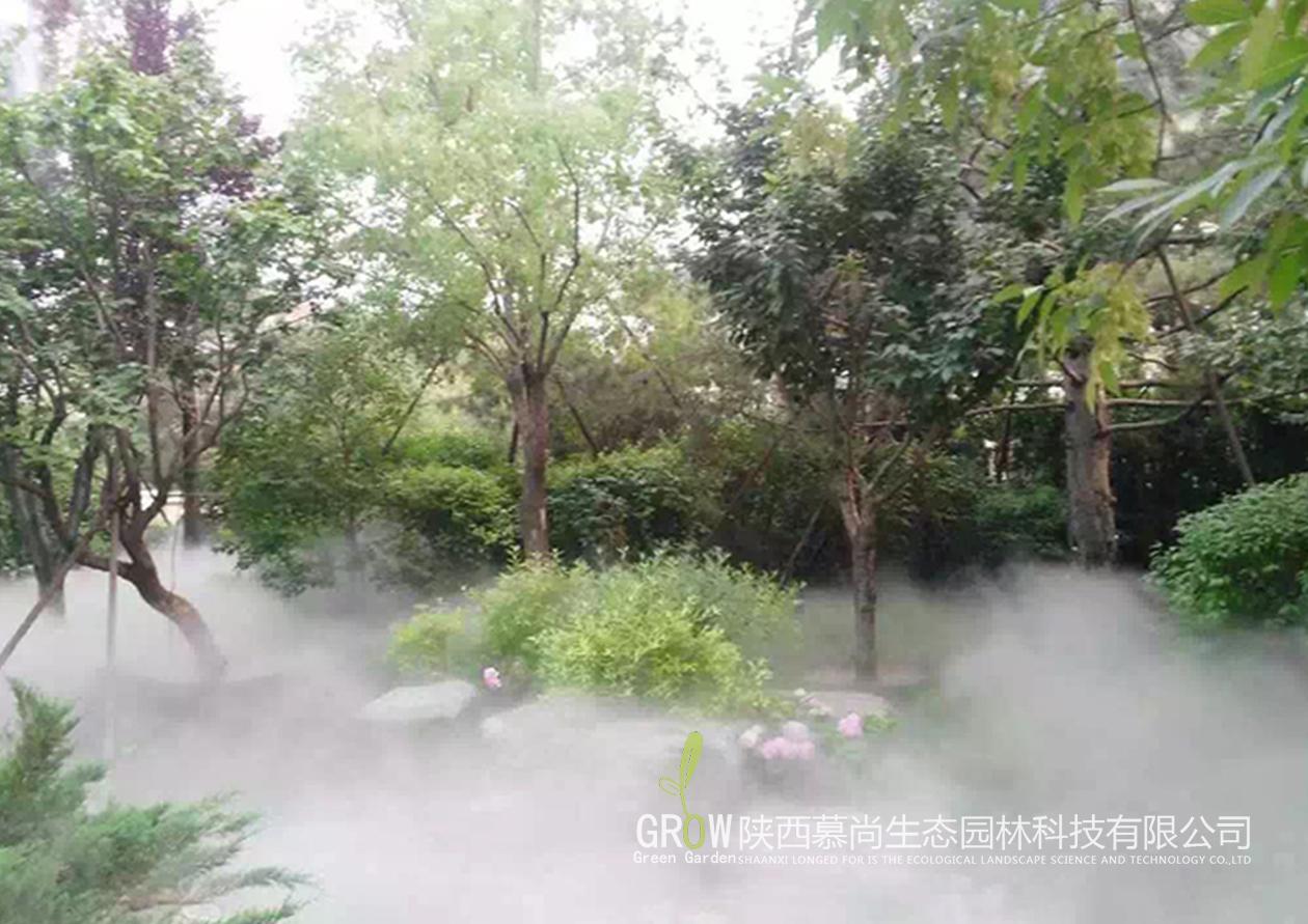 园林绿化雾森景观