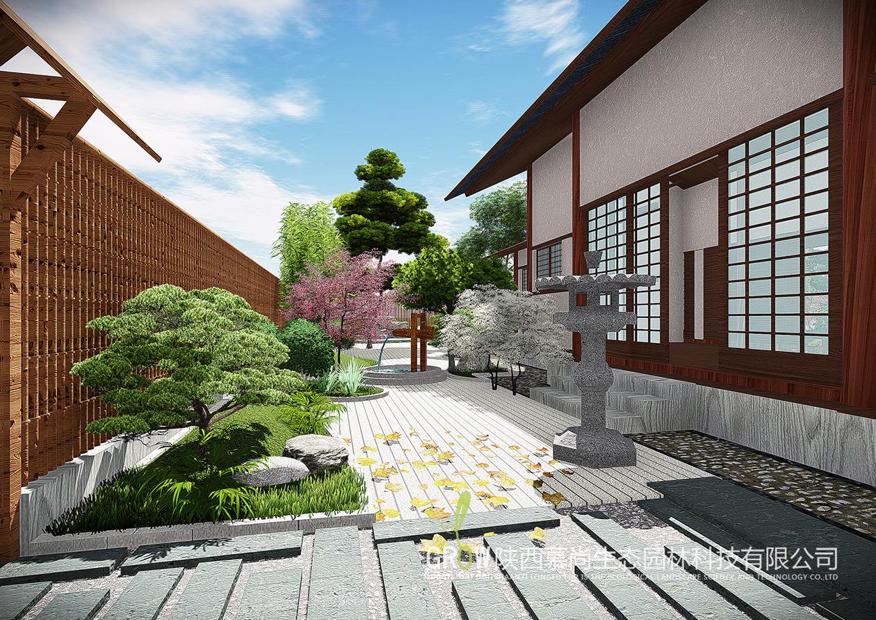 日式庭院造景设计