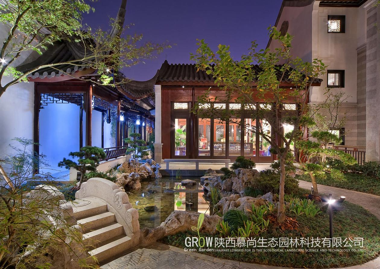 中式小花园设计