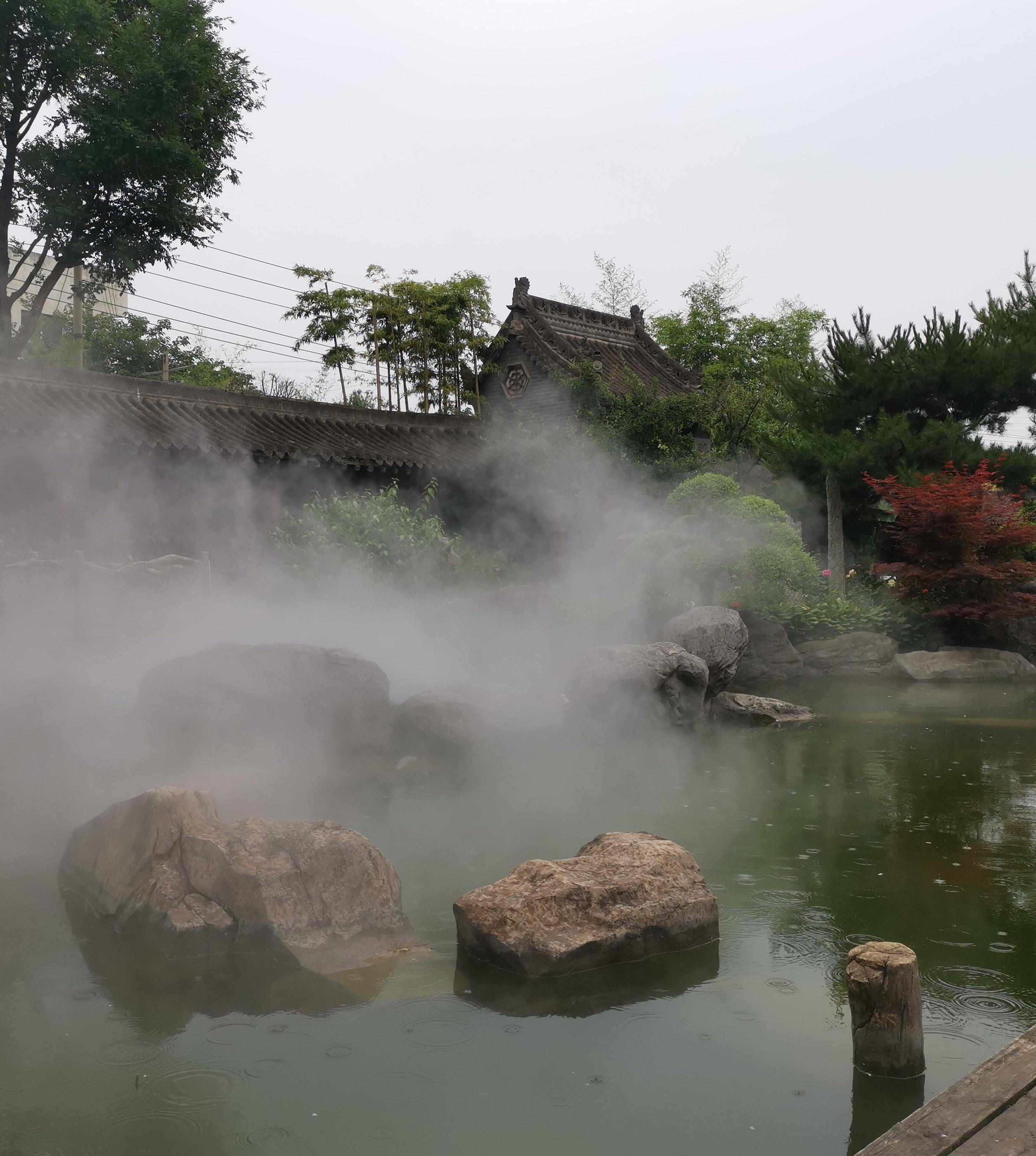 雾森景观视频