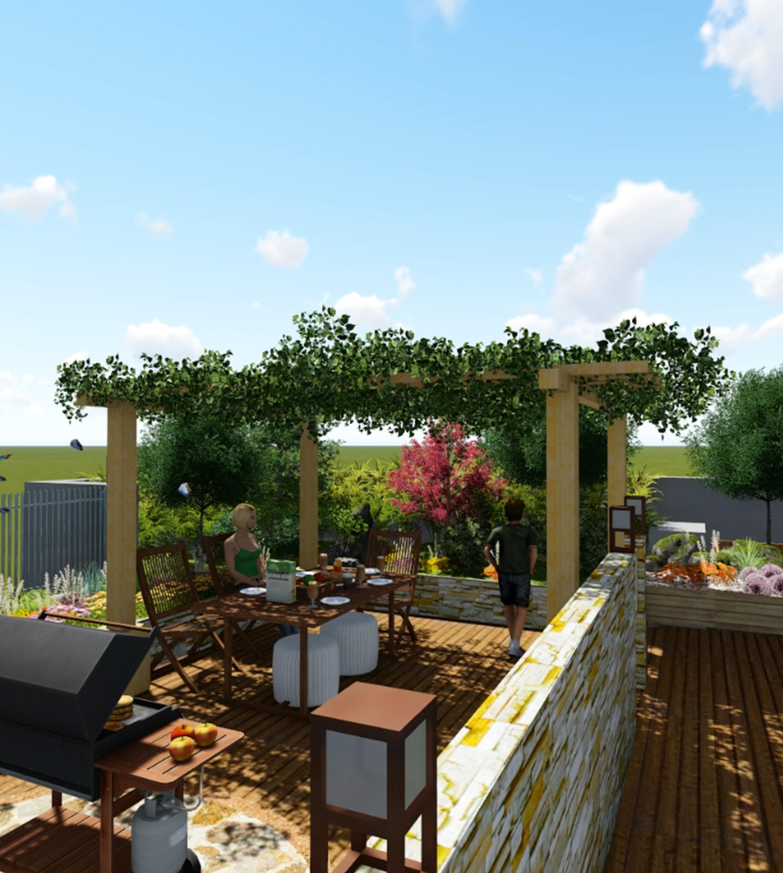 屋顶花园视频