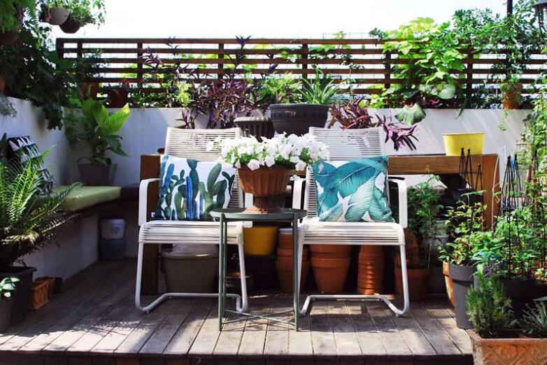 屋顶花园设计时花园风水应注意什么