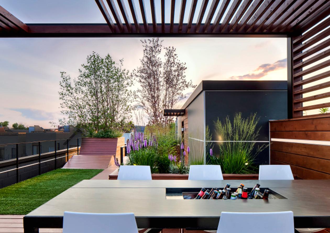 露台屋顶花园设计