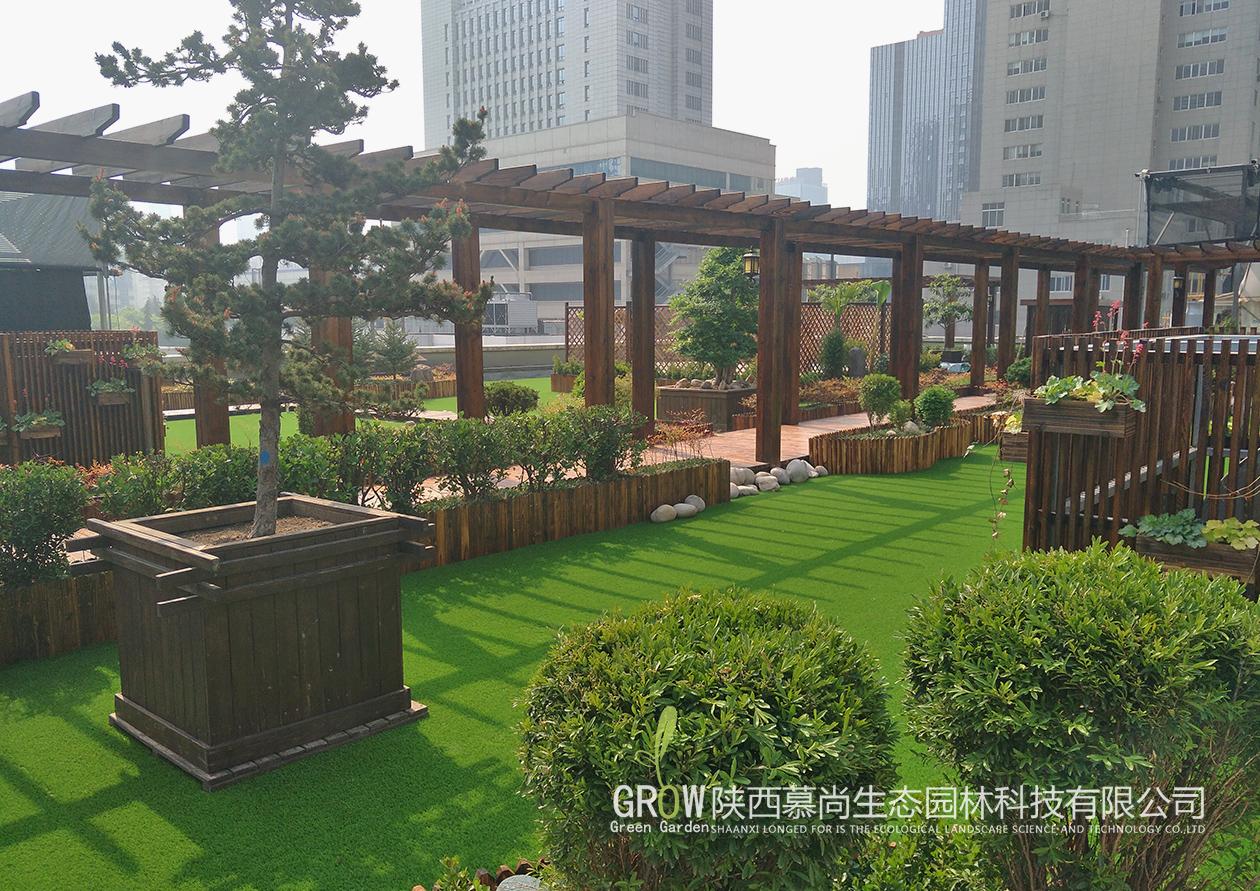 屋顶花园设计与防水施工做法