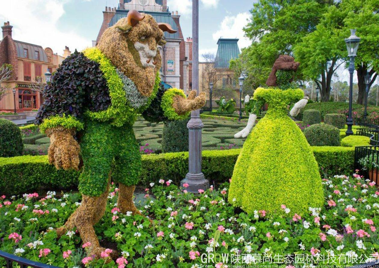夏季高温对植物绿雕厂家的发展是有一定影响的