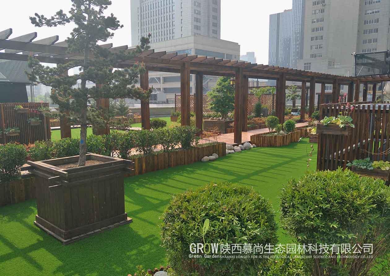 千禾藥業屋頂花園