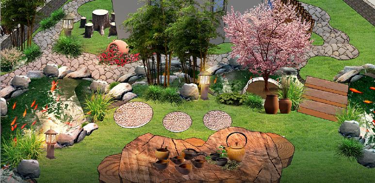 别墅庭院设计中对竹子的常用设计手法有哪些