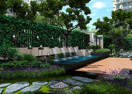 浐灞紫薇花园洲庭院景观设计方案