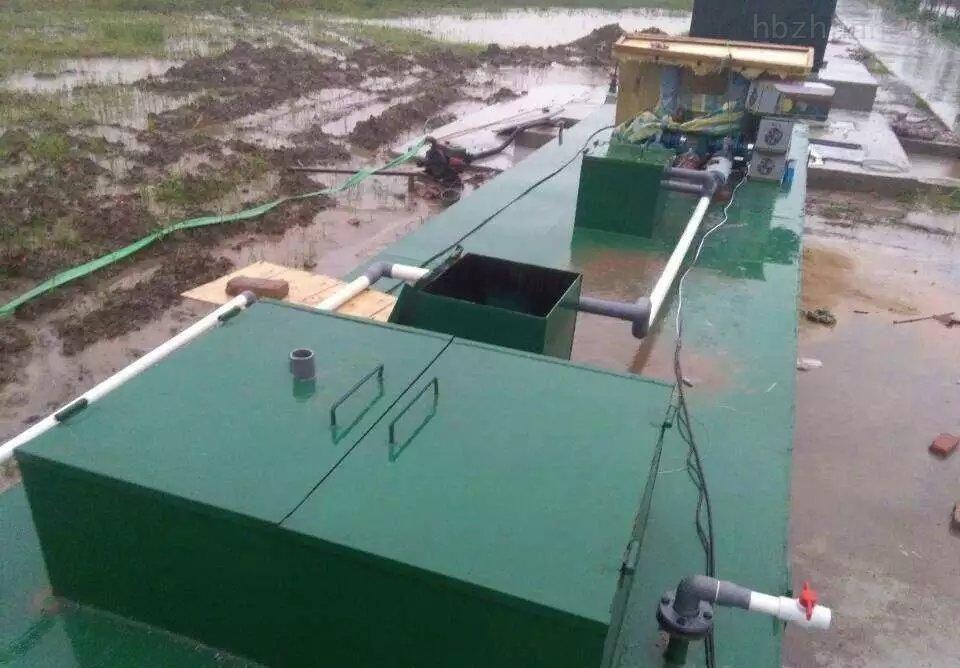 工业污水处理设备需要注意什么流程